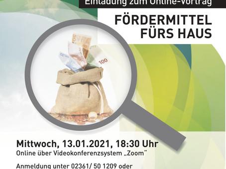 Energetische Quartierssanierung Hillerheide: Online-Vortrag stellt die neue Förderrichtlinie vor