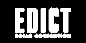 Edict Logo White