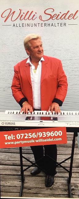 Entertainer Willi Seidel