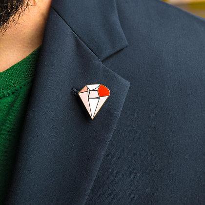 Brave Heart Power Pin