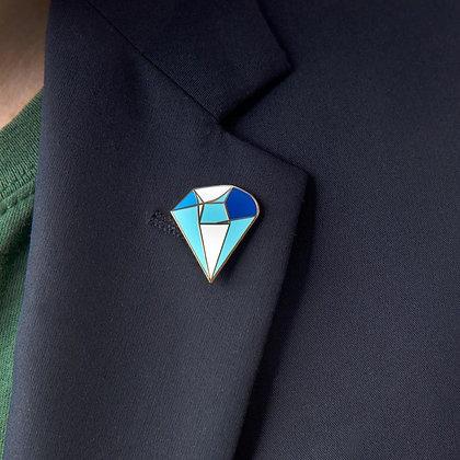 Blue Hope Power Pin