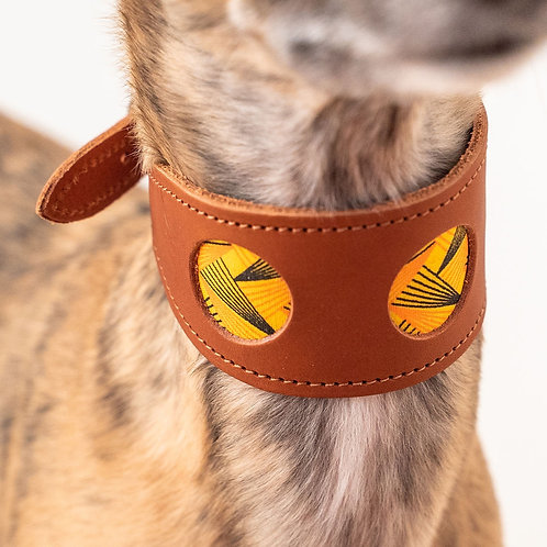 Leather Collar / Brown
