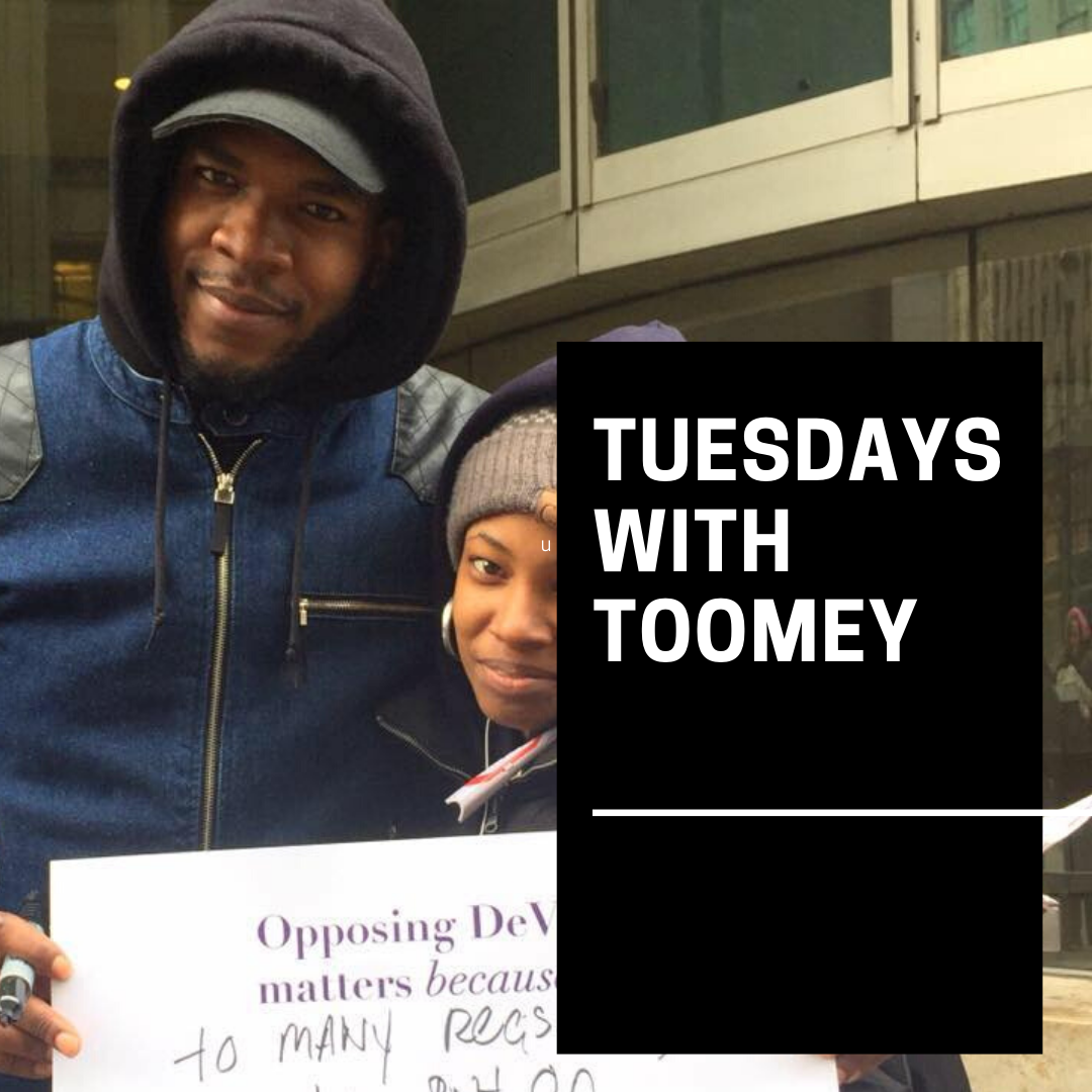 Tuesdays with Toomey