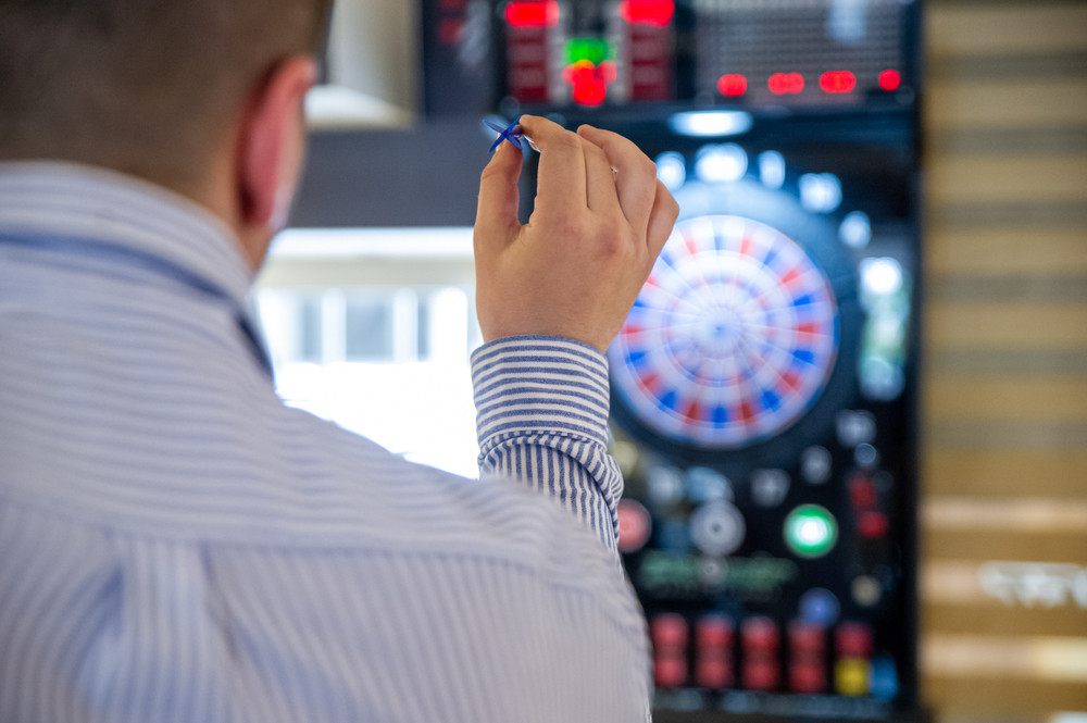 Who is the best professional darts player?