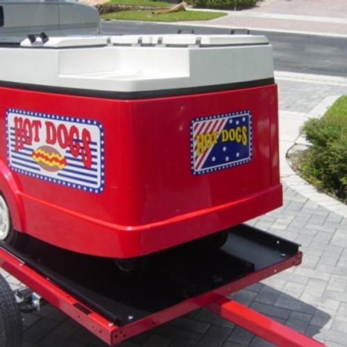 popsicle stick trailer paletas cart mobile food cart hot dog bicycle unique vending cart