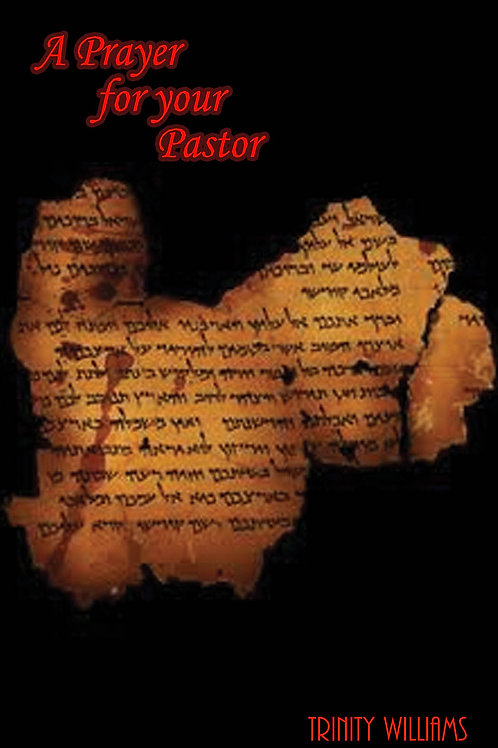 A Prayer for Your Pastor Booklet