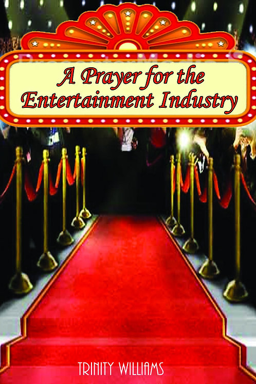 A Prayer for the Entertainment Industry Booklet