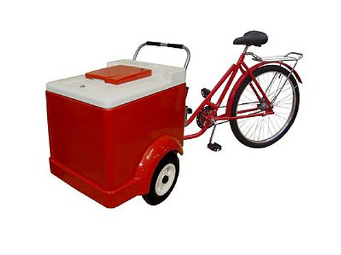 334TR Ice Cream Tricycle w/ Cold Plates
