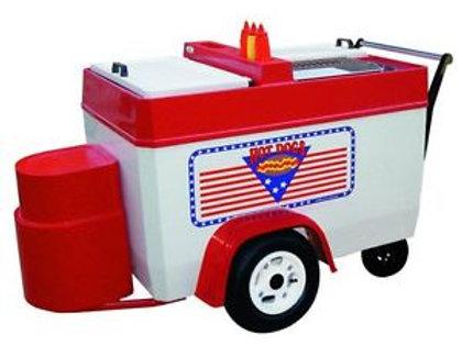 202PCP Hot Dog Push Cart