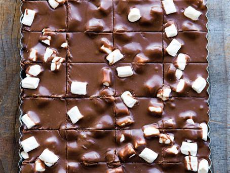 Dark Chocolate Marshmallow Fudge