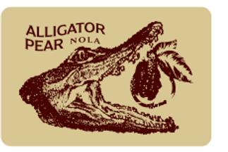 Alligator Pear Sticker