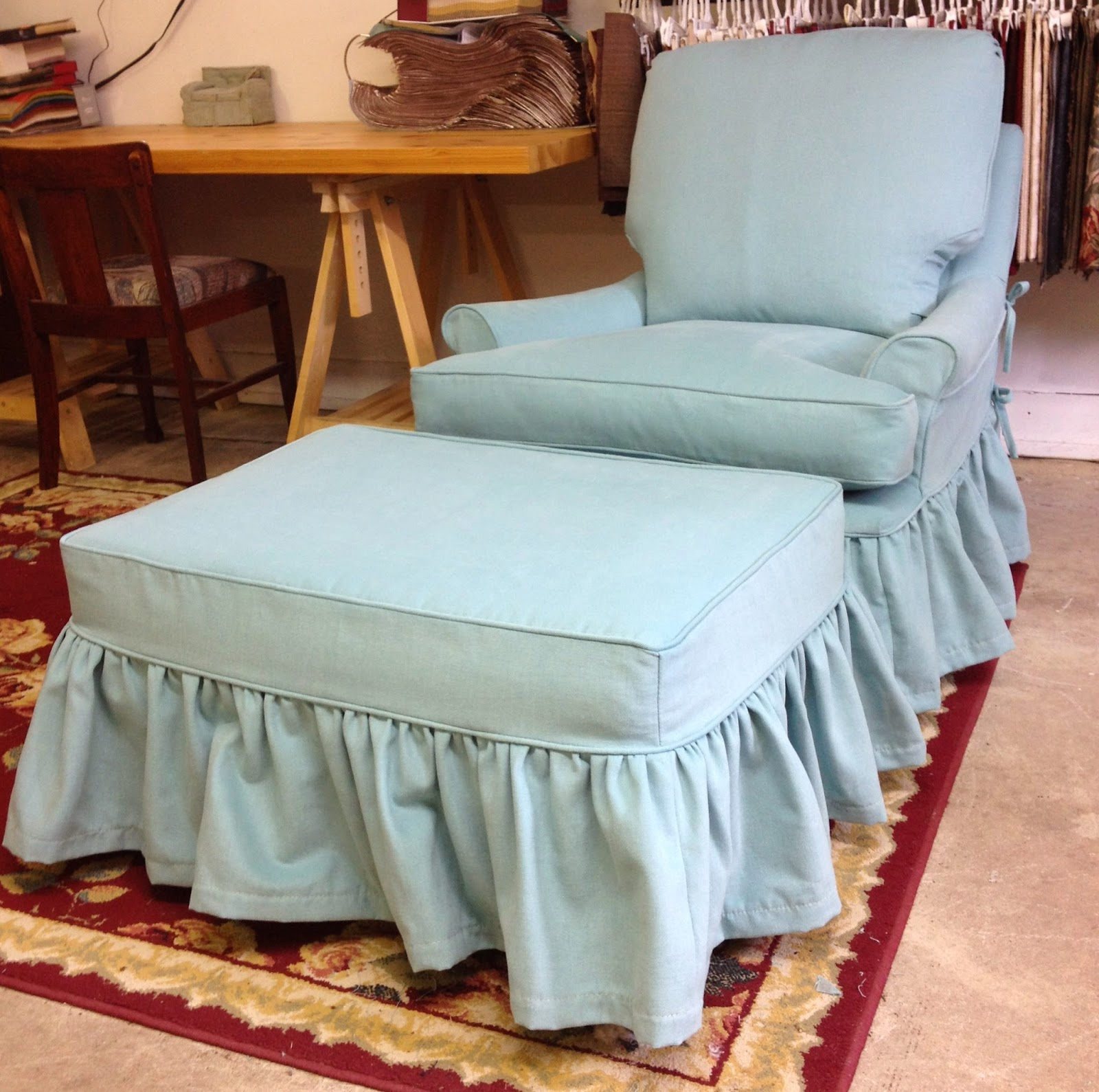 Pretty Brushed Cotton Slipcovers