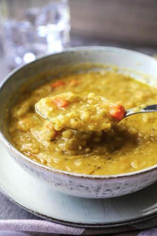 Cynthia's Vegan Split Pea Soup