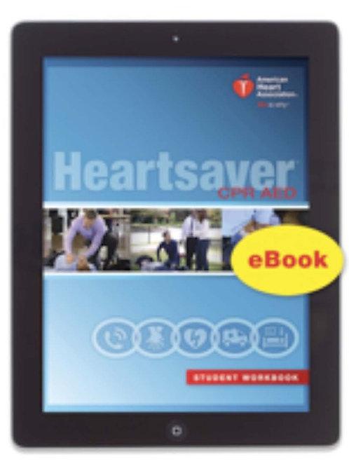 Heartsaver CPR AED Manual (eBook)