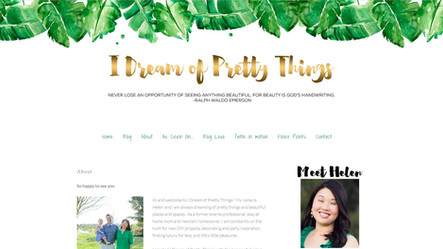Sara Michelle Design featured on I Dream of Pretty Things