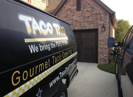 A BIG thank you to Kristine for a great Taco Taxi Party!