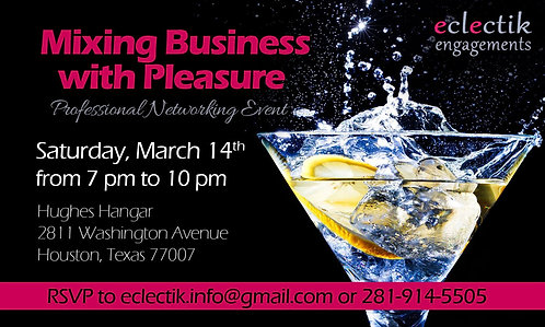 Business Networking Invitation