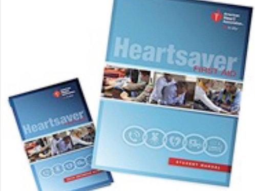 Heartsaver First Aid Manual