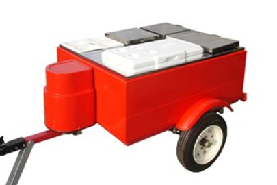 207TCP Hot Dog Tow Cart Deluxe (Propane)