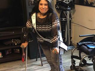 Sponsoring Ms. Wheelchair Texas USA