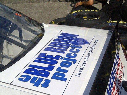 Design Featured on NASCAR for TBRP