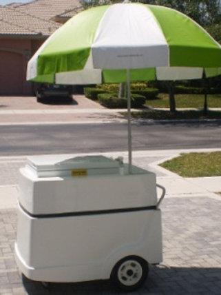 301PC-E/B Ice Cream Push Cart