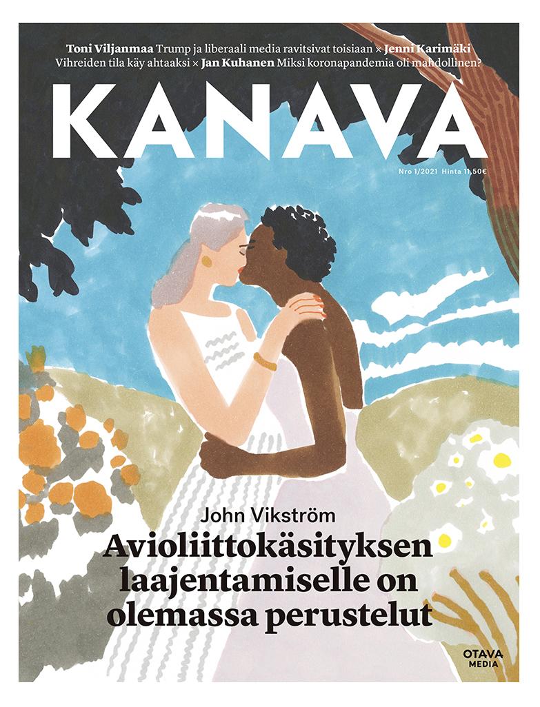 Kanava magazine cover 1/2021