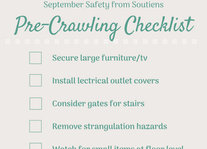 A Safety Checklist for Parents of Pre-Crawlers
