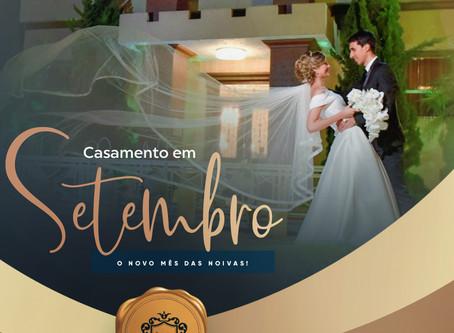 Casamento em setembro: o novo mês das noivas!👰