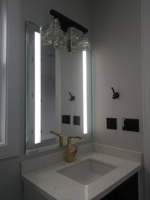 Polish Mirror With Led Light