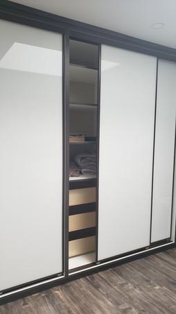 Ikea Style Organizers With Sliding Door