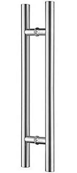 Chrome H handle
