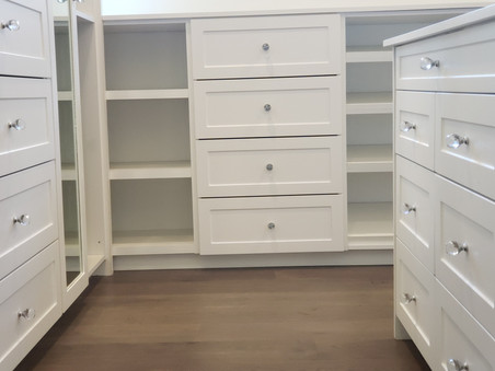 More Storage With Drawers