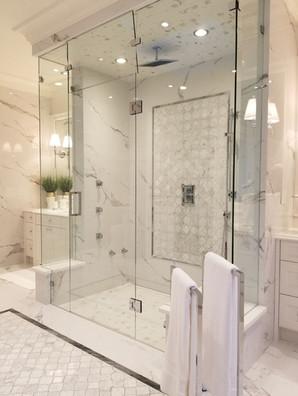 12mm glass steam shower door