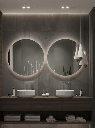 Round Mirror Polish Edge
