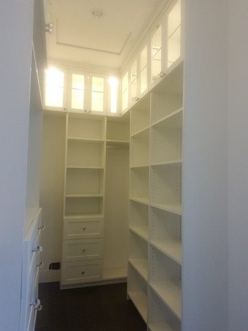 Custom Closet To Ceiling
