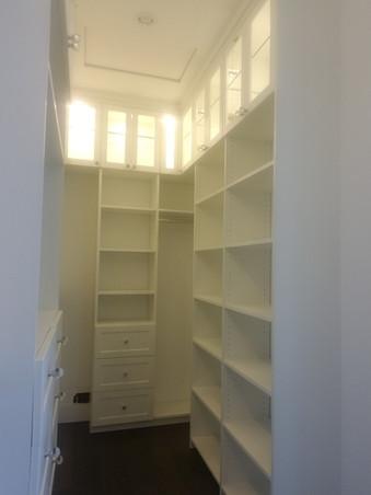 Custom Closet To Ceiling