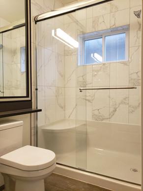 shower slider 6mm glass