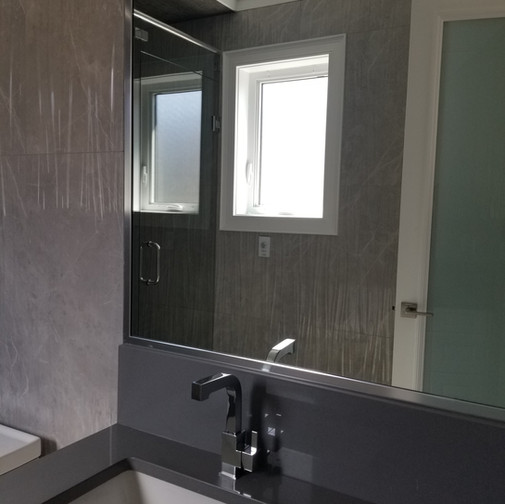 Mirror With Chrome Metal
