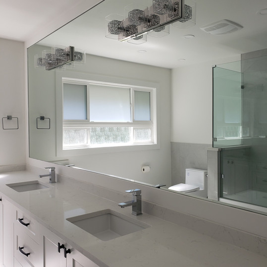 Mirror With White Frame