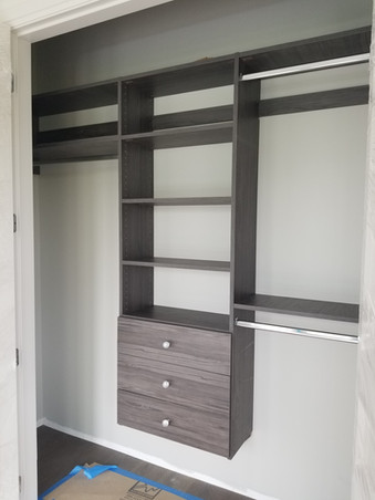 Long & double hinger with drawers
