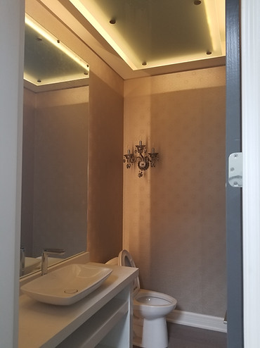 Polish Mirror with celling glass