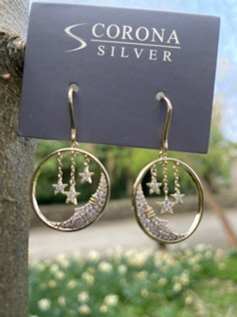 FASHION EARRING WITH CRYSTAL