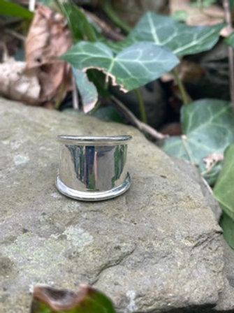 Sterling silver handmade ring.Please see sizes available.