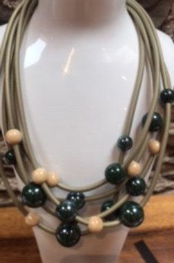 Fashion necklace,handmade ceramic beads