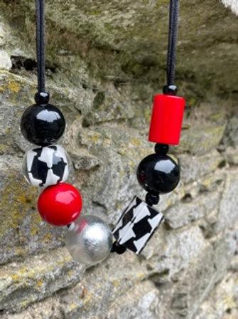 Resin Handmade Necklace.