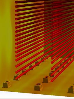 CFD of Coker Heater
