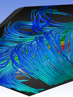 Thermal Oxidizer CFD Model
