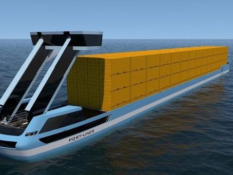 Navio Tesla: empresa holandesa prepara cargueiro 100% elétrico