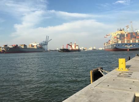 Porto de Itajaí cresceu 3% na movimentação de cargas